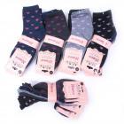Womens Socks, cotton , Heart Pattern, 35-41, 5