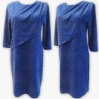 D4003 Dress, Made In Poland, 44-52, Blue