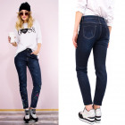 Women Jeans Pants, With Embroidery, 34-42, B16918