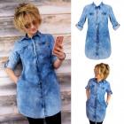 BI663 Cotton Tunic, Light Jeans, Loose Style
