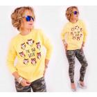 A807 Daily Cotton Sweatshirt, Owl Week