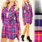 BI525 Lovely Tunic Dress, Shirt, Pattern: Lattice