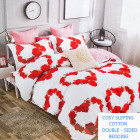 Bedding set, 2-sided, 160x200, 4 parts, Z066