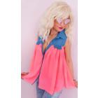 BB188 Wonderful Summer Tunic, Pastel Colors