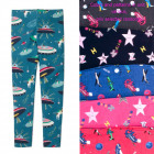 Leggings For Girls, 104-152, Kosmos, 5391