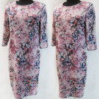 D4027 Dress, Made In Poland, Plus Size 44-52
