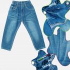 A19167 Pantalon en jean pour enfants, 4-12 ans