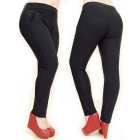 Winter, Warm Women Pants, Elegant, L-5XL, 5022