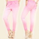 B16558 Jeans Pants, Tubes, Boyfriend, Sweet Pink