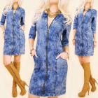BI571 Comfortable Jeans Dress, Long Slider