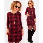 A1004 Lovely Women Dress, Tunic, checkred