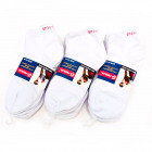 Men Socks, Feet, White, cotton 40-46, 5394