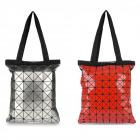 Women City Bag, A4, Handbag with Triangles, A1876