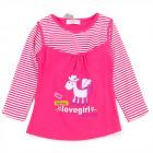 Bluse für Mädchen, Baumwolle, 9-36, 6341