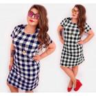 BI726 Schickes Kleid, Größen bis 56. Übergröße