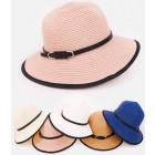 B10A65 Deep, Elegant Hat, Summer Chic