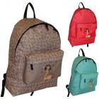 BP241 ŻYRAFA School backpack A4 HIT