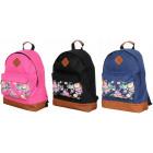Plecak damski plecaki kwiaty na kieszonce BP241