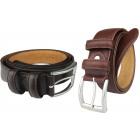 Men's belt JOHN GOTTI Dark Brown -80%