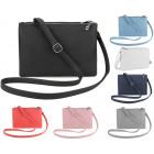 Elegant clutch bag + 2 compartment strap