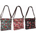 CB170 Roses Lackleder Geldbörse Damen Handtaschen