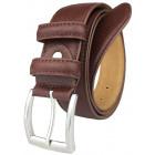 Men's belt JOHN GOTTI Light Brown -80%