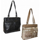 LHB32 Damenhandtasche aus echtem Leder A4 Handtasc