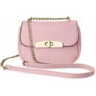 Beautiful small handbag with a chain clutchbag124