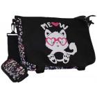 Women's handbag shoulder bag, cat cb107