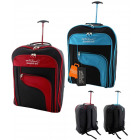Practical capacious suitcase-backpack hand luggage