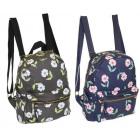 Piękny plecak damski w kwiaty CB186 WYPRZEDAŻ
