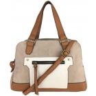 Schöne Handtasche mit langem Gürtel von F & F
