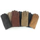 Suede men's gloves