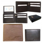 Elegant Men's Wallet JCB Black Brown JCB44