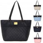 Fashionable quilted handbag. Shopper Bag