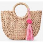 Piękna słomiana torebka damska kosz koszyk tanio