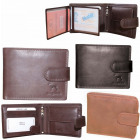 Elegant men's wallet, natural RFID NC42