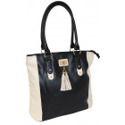 A beautiful elegant shopper's shoulder bag