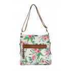 Piękna torebka damska na ramię do szkoły tropical