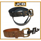 A thick men's leather belt from JCB2 black / g