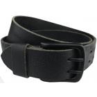 Men's belt, natural leather M & S BLACK N3