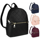 Beautiful quilted backpack FB147 HIT