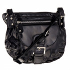 sac à main féminin A11 laqué noir **