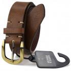 M & S Original men's brown belt F25