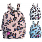 Women's backpack in butterflies CB303 school b