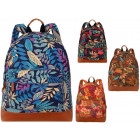 Beautiful unisex school backpack LEAF New