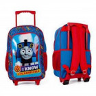 Tomek Train Suitcase / Backpack with wheels