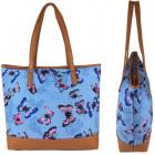 Shoulder bag for ladies A4 Butterflies Star SH004