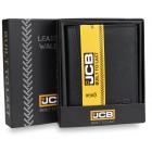 Elegant JCB54 RFID men's leather wallet