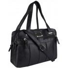 Schöne Handtasche 3 Kammern für eine Schulter 1022